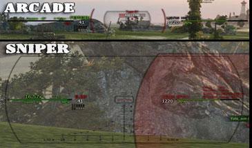 Прицел Гарпун для World of Tanks 1.10.0.1