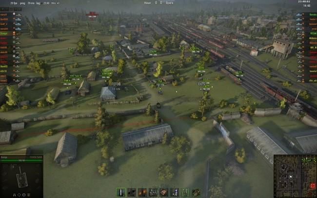 Мод Командирская камера для World of Tanks 1.6.0 / 1.5.1.3