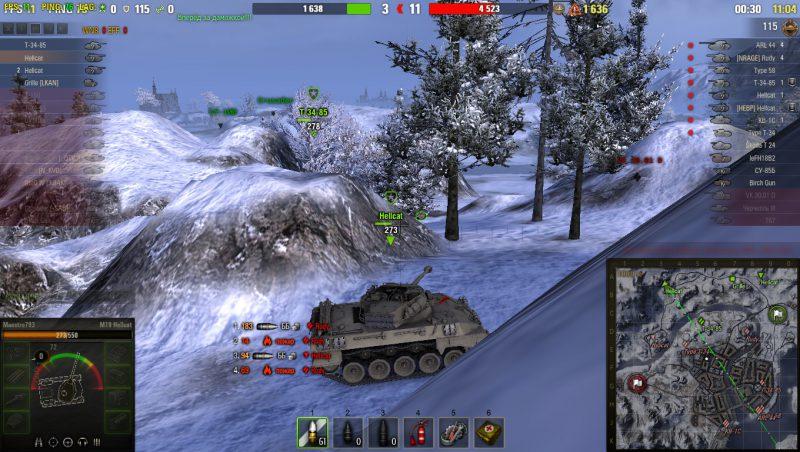 Сборка модов от Пираний для World of Tanks 1.4.1