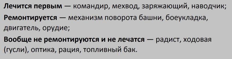 Мод Винтик - Быстрый ремонт и лечение экипажа 1.5.1