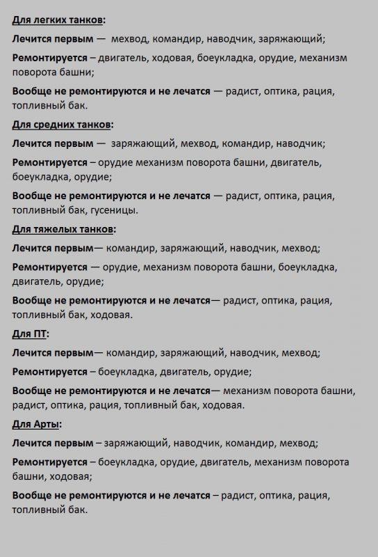 Мод Винтик - Быстрый ремонт и лечение экипажа 1.4.1