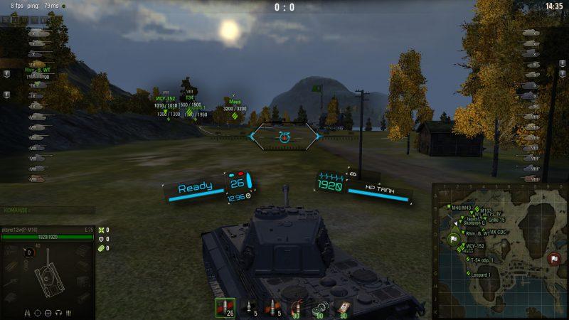 Супер информативные прицелы от Deegie для World of Tanks 1.4.1