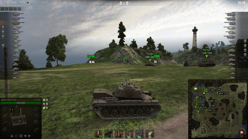 Прицел для настоящих танкистов Ruler
