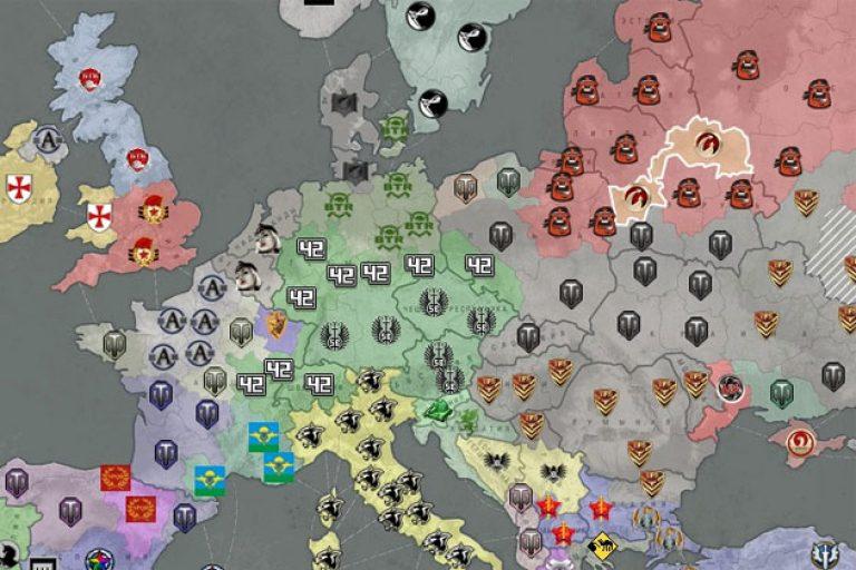 Война на глобальной карте