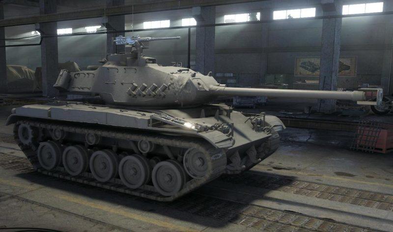 Танк leKpz M 41 90 mm