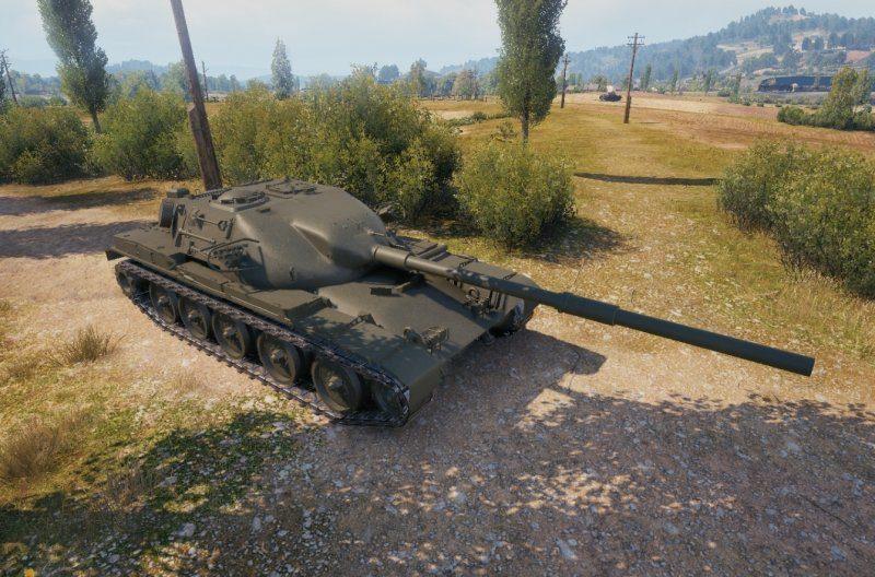 Танк T95/FV4201 Chieftain